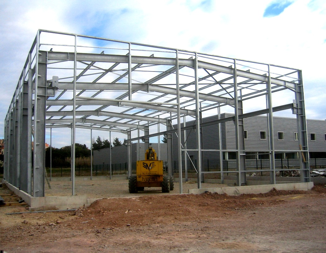 Construction m tallique structure ou pi ce sur mesure - Calcul d un hangar en charpente metallique ...