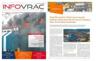 INFOVRAC / Nouvelle carrière VAILLS dans les Pyrénées-Orientales