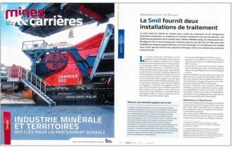 MINES ET CARRIERES / Extension en mer de Monaco : La SMIL fournit deux installations de traitement
