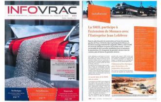 INFOVRAC / La SMIL participe à l'extension de Monaco avec l'Entreprise Jean Lefebvre