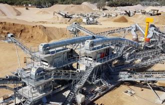 STPG Carrière de Ponte Bonello : Installation de production de granulats